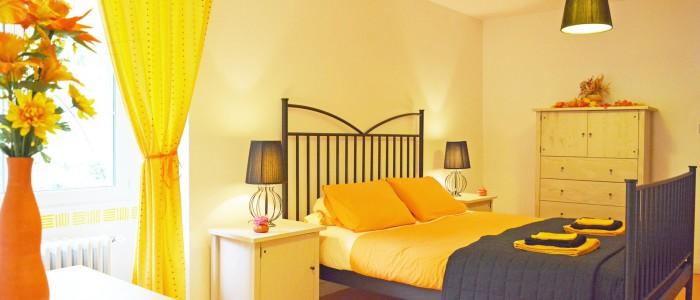 Les Forges d'enfalits - chambres d'hotes en Ariège - chambre Paprika - bandeau N°09