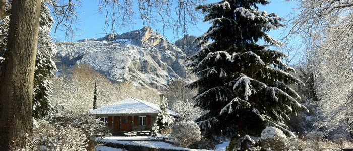 Forges d'enfalits - chambres d'hôtes en Ariège - parc hiver - bandeau 1920p n°18