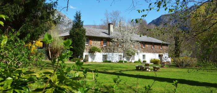 Forges d'enfalits - chambres d'hôtes en Ariège - parc - gros bandeau n°12